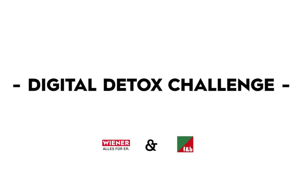 Digital Detox Challenge Für WIENER | Gewinnspiel